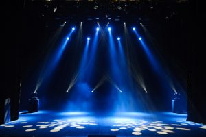 Free,Stage,With,Lights